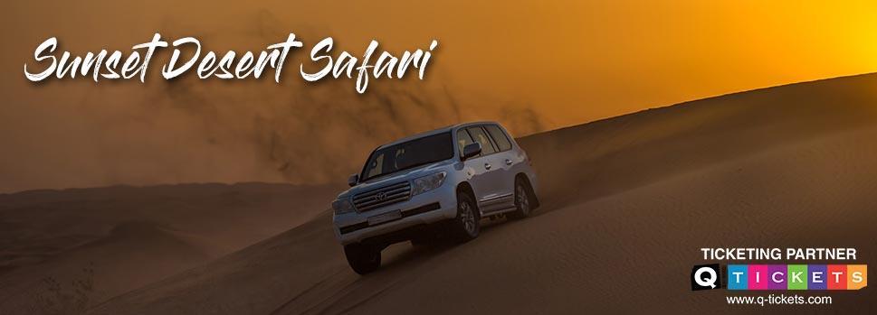 Sunset desert safari | Events | Tickets | Discounts | Qatar Day