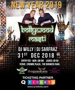 BOLLYWOOD MASTI DJ WILLY & DJ SARFARAZ