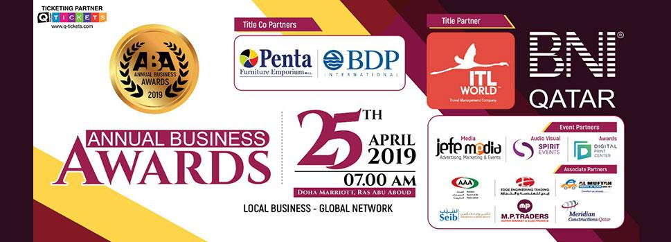 BNI ANNUAL BUSINESS AWARDS 2019 | Events | Tickets | Discounts | Qatar Day