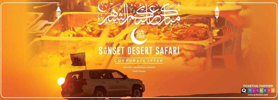 Sunset Desert Safari with Iftar | Events | Tickets | Discounts | Qatar Day