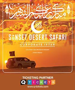 Sunset Desert Safari with Iftar