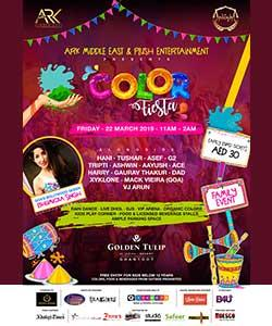 COLOR FIESTA 2019  HOLI