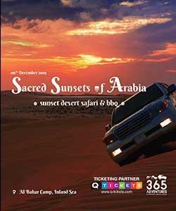 Sacred Sunsets of Arabia