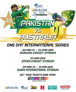 Pakistan vs Australia 2019