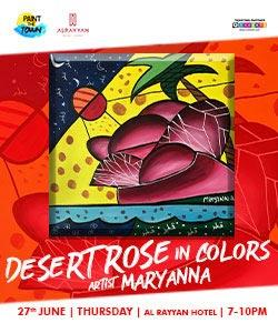 Paint The Town  Desert Rose in Colors
