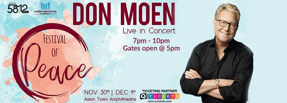Festival of Peace Conference with Don Moen | Events | Tickets | Discounts | Qatar Day