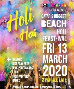 BEACH HOLI FEASTIVAL