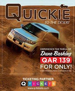 Quickie to the Desert QAR 139 (Shared)