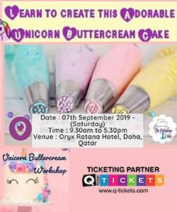 Unicorn Buttercream Cake Workshop (Beginners)