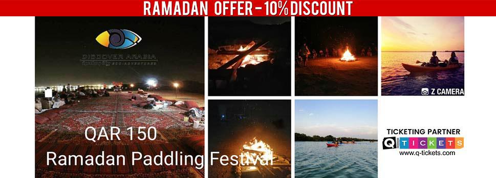 Ramadan Paddling Festival with African Drumming | Events | Tickets | Discounts | Qatar Day