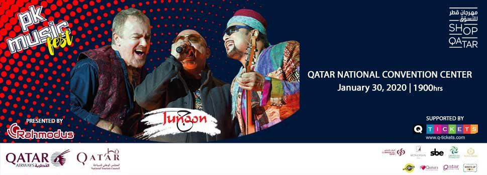 PK MUSIC FEST - JUNOON | Events | Tickets | Discounts | Qatar Day