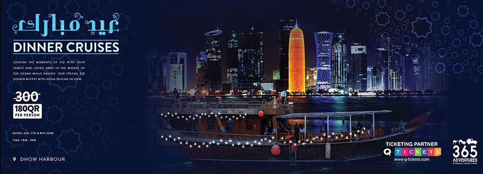 EID Special  Dinner Cruise | Events | Tickets | Discounts | Qatar Day
