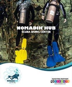Nomadik Hub Diving Center (1 Hrs)