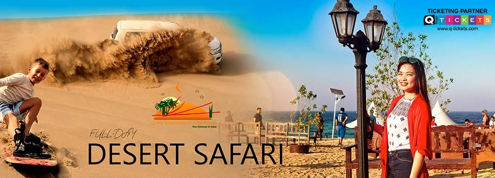 Full Day Desert Safari | Events | Tickets | Discounts | Qatar Day