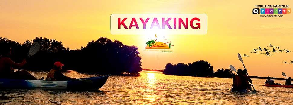 Kayaking Eco Adventures Tour | Events | Tickets | Discounts | Qatar Day