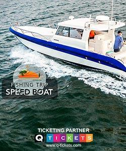Speed Boat Fishing Trip