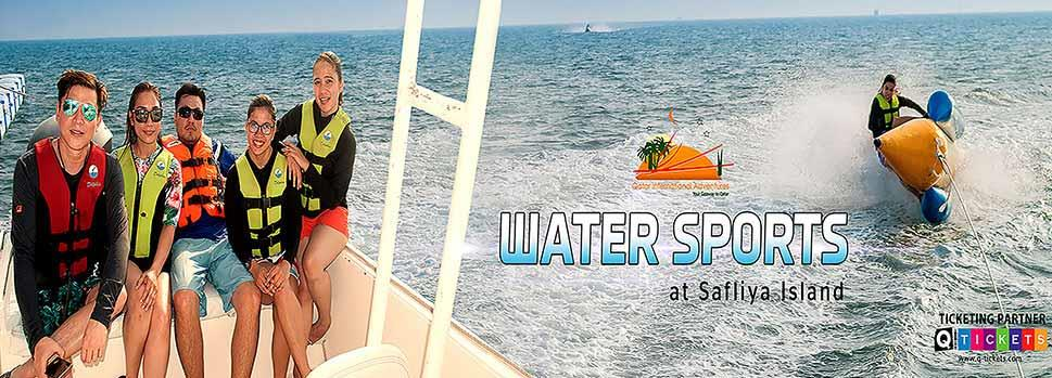 Water Sports at Safliya Island | Events | Tickets | Discounts | Qatar Day