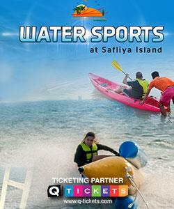 Water Sports at Safliya Island