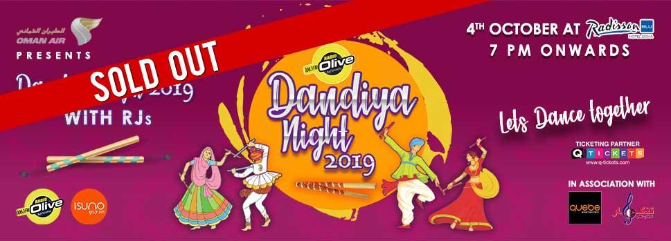 RADIO OLIVE DANDIYA NIGHT 2019 | Events | Tickets | Discounts | Qatar Day