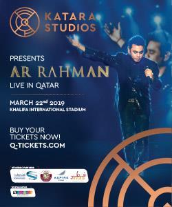 KATARA STUDIOS PRESENTS AR RAHMAN LIVE IN QATAR