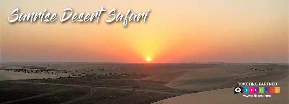 Sunrise Desert Safari | Events | Tickets | Discounts | Qatar Day