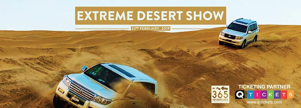 Extreme Desert Show | Events | Tickets | Discounts | Qatar Day