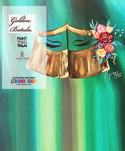 Paint The Town: Golden Batula