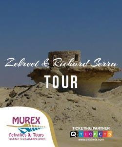 ZEKREET AND RICHARD SERRA TOUR (4 HRS)