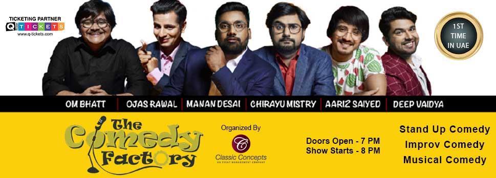 The Comedy Factory | Just Dubai