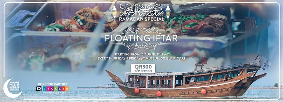 Floating Iftar | Events | Tickets | Discounts | Qatar Day
