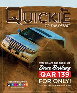Quickie to the Desert QAR 139 (Shared) 2019