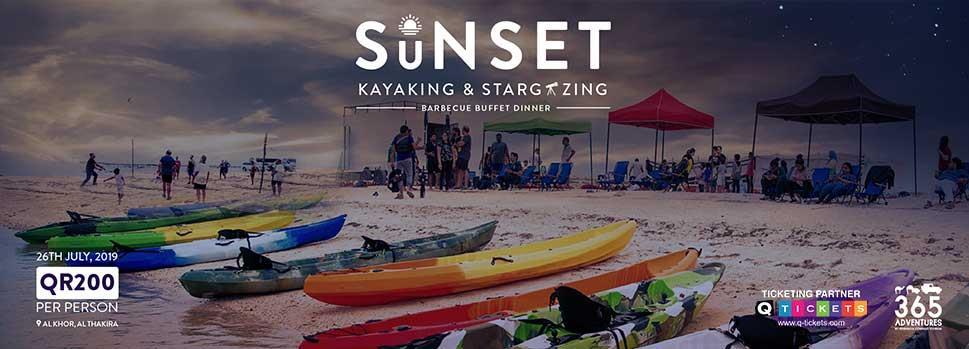 Sunset Kayaking, Stargazing & BBQ | Events | Tickets | Discounts | Qatar Day