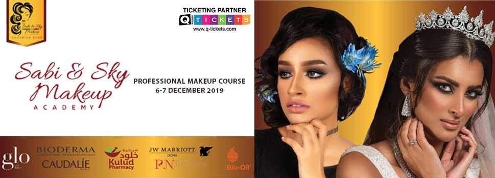 Sabi & Sky Makeup Academy - Makeup Trends & Type | Events | Tickets | Discounts | Qatar Day