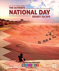 National Day Desert Escape