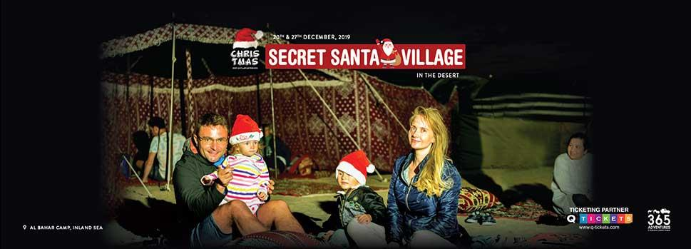 Secret Santa Village | Events | Tickets | Discounts | Qatar Day