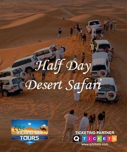 Half Day Desert Safari (4 Hrs)