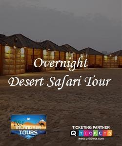 Overnight Desert Safari Tour (19 Hrs)