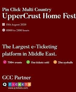 Pin Click Multi Country UpperCrust Home Fest  Edition 1