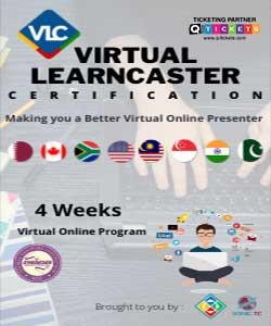 VLC | Virtual LearnCaster Certification  Making you a Better Virtual Online Presenter