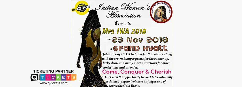MRS. IWA 2018 | Events | Tickets | Discounts | Qatar Day
