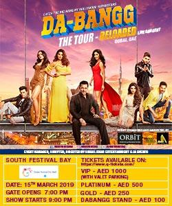DABANGG THE TOUR RELOADED