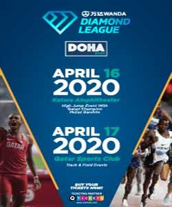 Wanda Diamond League  Doha 2020