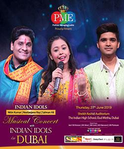 Musical Concert with Indian Idols