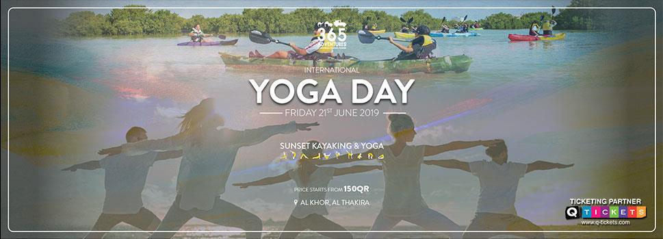 Sunset Kayaking, Yoga & BBQ | Events | Tickets | Discounts | Qatar Day