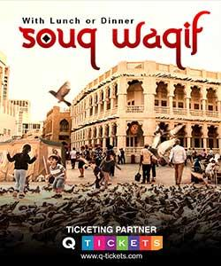 Souq Waqif Tour with Lunch or Dinner