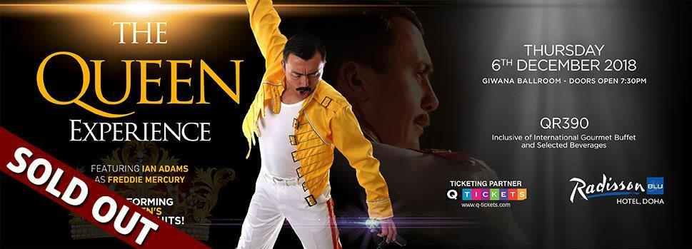 The Queen Experience 6th Dec 2018   Events   Tickets   Discounts   Qatar Day