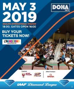 DOHA DIAMOND LEAGUE 2019