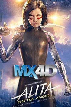 ALITA: BATTLE ANGEL (MX-4D)