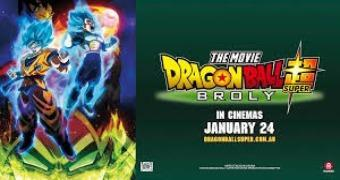 DRAGON BALL SUPER: BROLLY (ANIMATION) -Movie banner