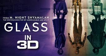 GLASS (3D) -Movie banner